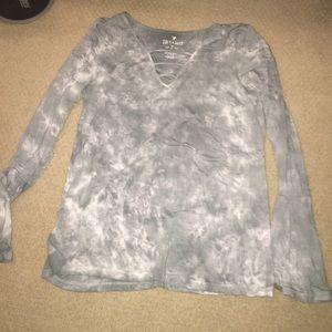 American eagle Tye dye pattern shirt